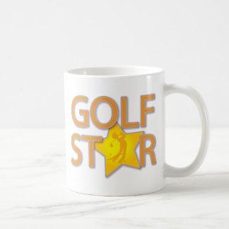 Golf Star Coffee Mug