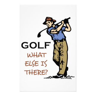 Golf Personalized Stationery