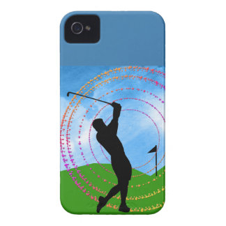 Golf Swing iPhone 4 Cover