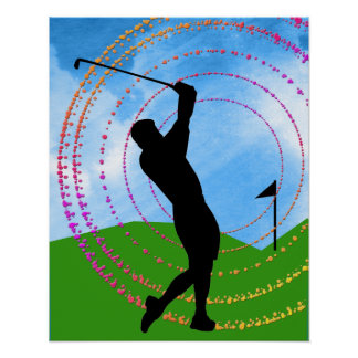 Golf Swing Posters