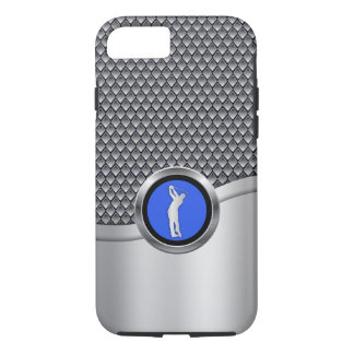 Golf Swing Sporty Metallic Look iPhone 8/7 Case