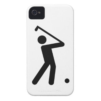 Golf Symbol iPhone 4 Case