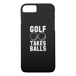 Golf Takes Balls iPhone 7 Case