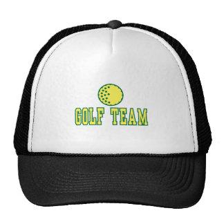 golf team logo design trucker hat