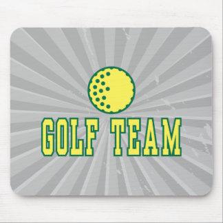 golf team logo design mousepad