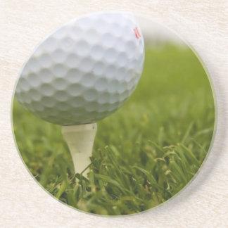 Golf Tee Design Coasters