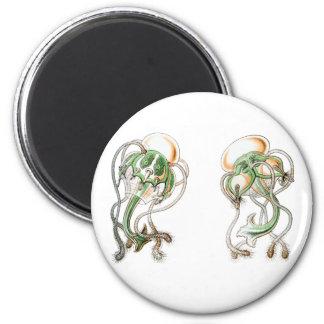 Golf Tee Medusa Fridge Magnet