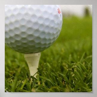 Golf Tee Poster Print