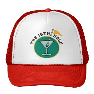 Golf The 19th Hole Drinking Hats