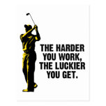 Golf - The Harder You Work The Luckier You Get