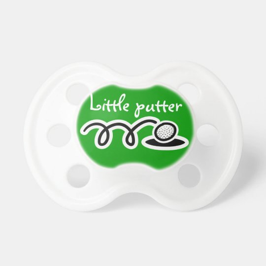 Golf theme baby pacifier / soother / dummy