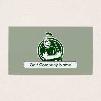Golf Theme Business Card Template
