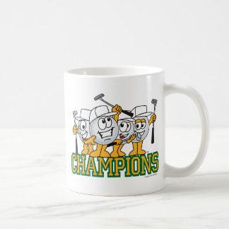 Golf Tournament Champions Prize Basic White Mug