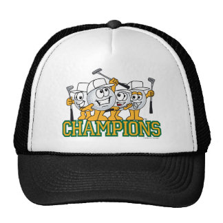 Golf Tournament Champions Prize Mesh Hat