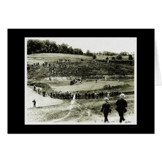 Golf Tournament in Washington, DC 1914 Card