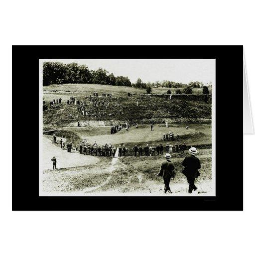 Golf Tournament in Washington, DC 1914 Greeting Cards