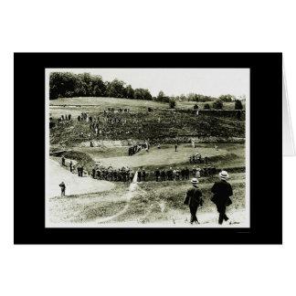 Golf Tournament in Washington, DC 1914 Greeting Card
