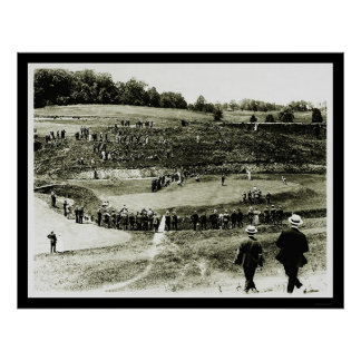 Golf Tournament in Washington, DC 1914 Print