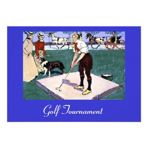 Golf Tournament Invitations
