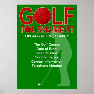 Golf Tournament Poster 3
