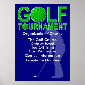 Golf Tournament Poster #4