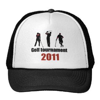 Golf tournament - RED Trucker Hats