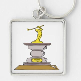 Golf Trophy Keychain