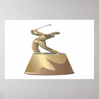 Golf Trophy Print