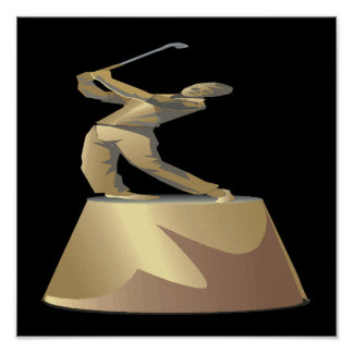 Golf Trophy Posters