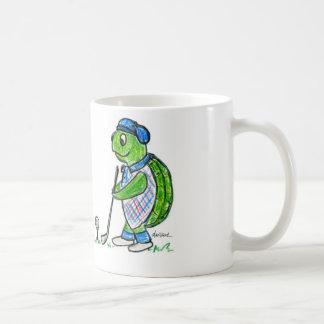 Golf Turtle Basic White Mug