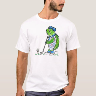 Golf Turtle T-Shirt