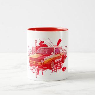 Golf Two-Tone Coffee Mug