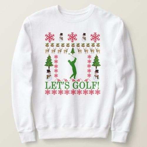 Golf Ugly Christmas Sweater ..png
