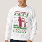 Golf Ugly Christmas Sweatshirt