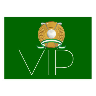 Golf VIP Card - SRF Pack Of Chubby Business Cards