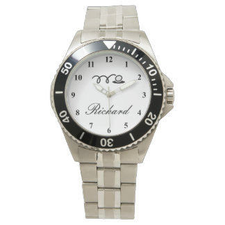 Golf watches for men with custom name print