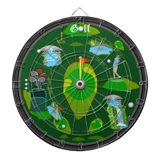 Golf Water Hazzard Dartboard