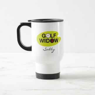 Golf Widow_Badge of Honor_Black Widow Spider Tees Stainless Steel Travel Mug
