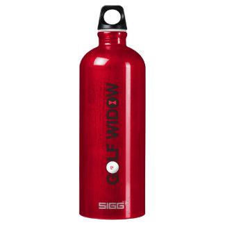 Golf Widow_Badge of Honor_logotype Water Bottle