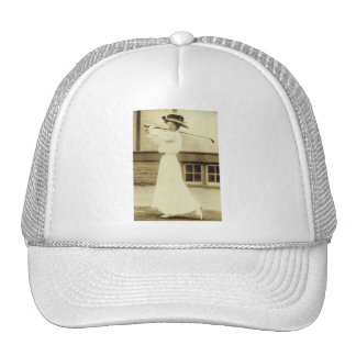 GOLF WITH STYLE! - 1908 Women's Golf Champion Cap