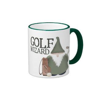 Golf  Wizard Ringer Coffee Mug