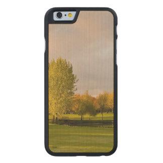 Golf Carved® Maple iPhone 6 Slim Case