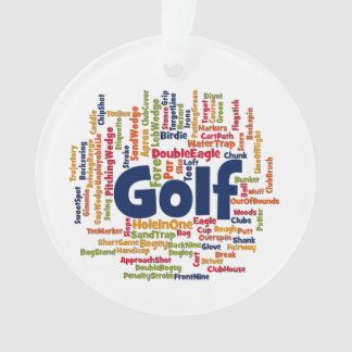 Golf Word Cloud