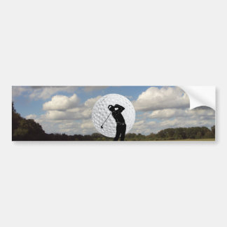 Golf World Bumper Sticker