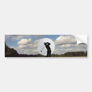 Golf World Bumper Sticker