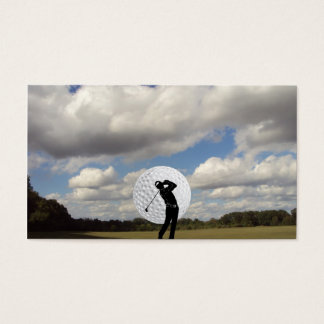 Golf World Business Card
