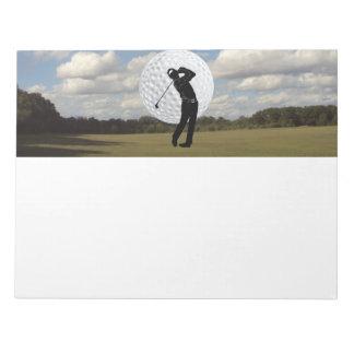 Golf World Notepad