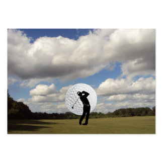 Golf World Pack Of Chubby Business Cards