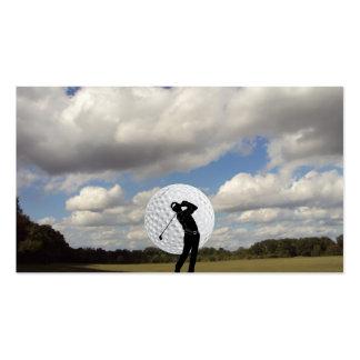 Golf World Pack Of Standard Business Cards