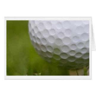 golf you say greeting card